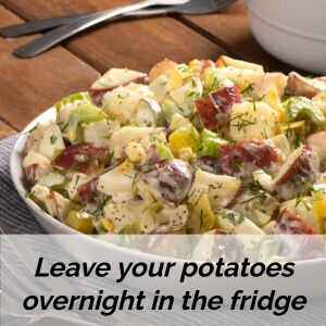 use overnight potatoes in diabetes recipes
