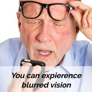 diabetic neuropathy blurred vision
