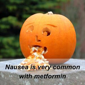 nausea side effects of metformin