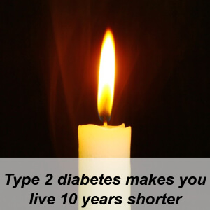 life expectancy for diabetes type 2