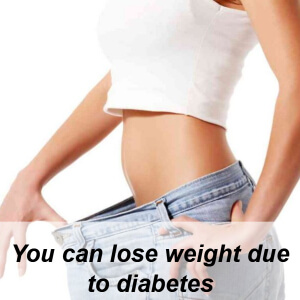 weight loss due to diabetes