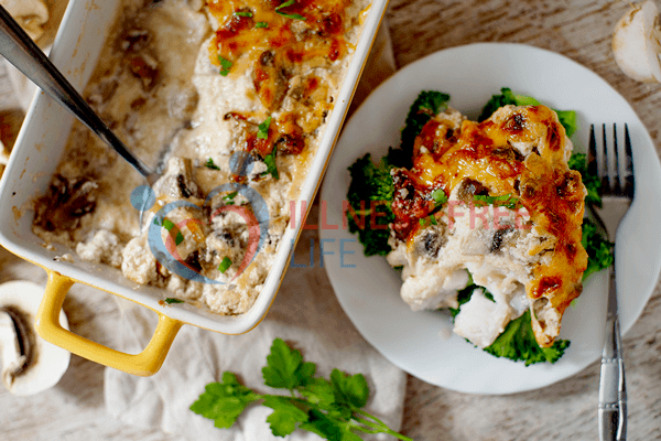 Low Carb Fish Casserole