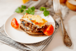 Low-Carb Lasagna with Eggplant
