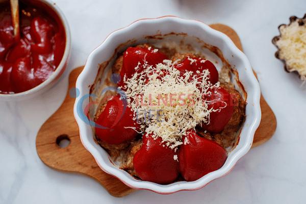 low carb meatball casserole